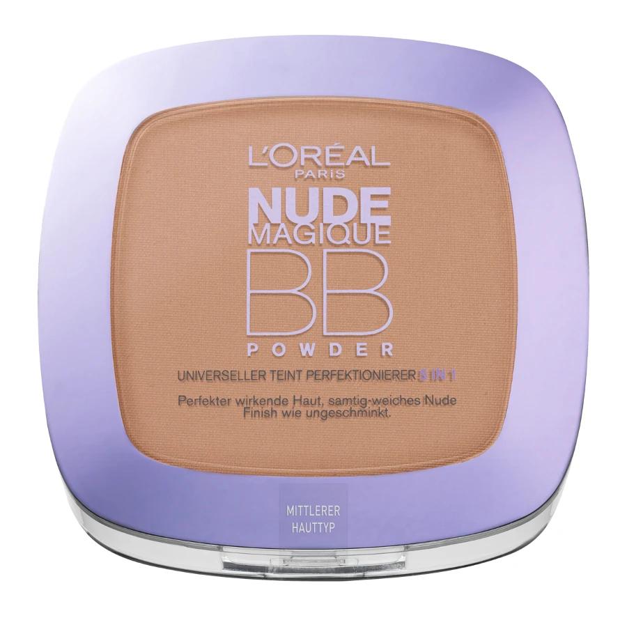 LOreal Glam Nude - 5 In 1 BB Cream - Medium To Dark - New